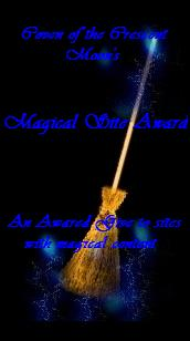 Coven of the Crescent Moon Magical Arts Award